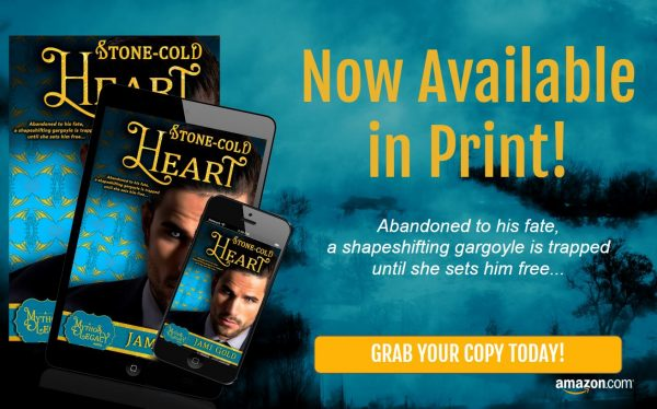 Stone-Cold Heart now available in print!