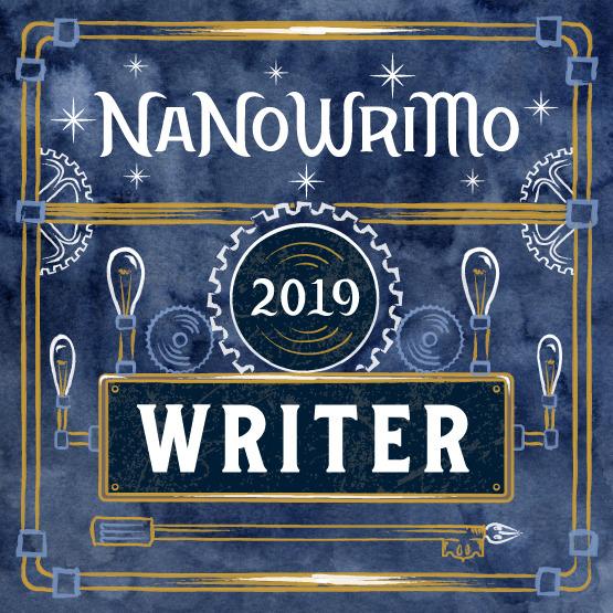 NaNoWriMo 2019 Writer participant badge